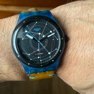 Swatch Sistem 51 Blue